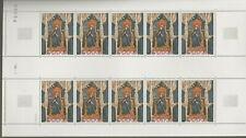 Andorra, Feuille de timbres neuve MNH, bien