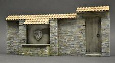 DioDump DD109 Village wall fountain 1:35 scale plaster diorama well model kit