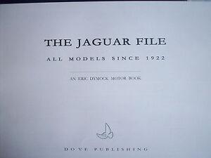 THE JAGUAR FILE, ERIC DYMOCK