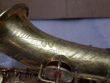 1930 Conn New Wonder Virtuoso Deluxe Alt/Alto Sax/Saxophone-Made in USA