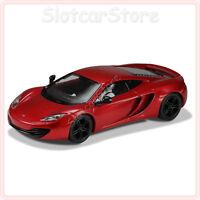 """Scalextric C3396 McLaren MP4-12c """"red"""" 1:32 Auto Slotcar Licht DPR"""