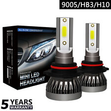 9005/HB3/H10 Coche Faro LED Lámpara Replace Blanco Bombilla 6000K COB 36W MINI1,