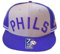 MLB Philadelphia Phillies PHILS Fitted Hat, 7 1/4