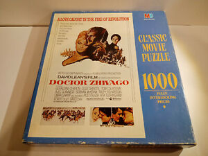 Vintage Doctor Zhivago Classic Movie Puzzle 1990/1967 MB Factory Sealed