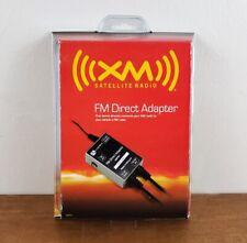 Audiovox Xm Satellite Radio Fm Direct Adapter Xmfm1 New