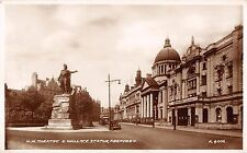 BR101454 h m theatre and wallace statue aberdeen real photo  scotland
