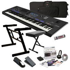 Yamaha Genos Digital Workstation Keyboard KEY ESSENTIALS BUNDLE