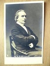 Real Photo Postcard- Theater Actors MR E S WILLARD, No.5057