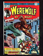 Werewolf By Night #23 ~ Silver Bullet / Full Moon ~ (8.5) WH