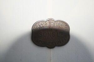 Token from Spitalfield Market London. Company James Ruane & Sons Ltd