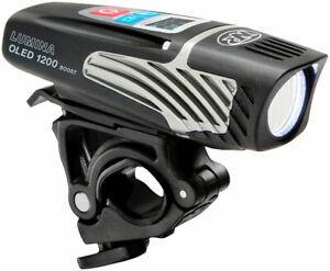 NiteRider Lumina OLED 1200 Boost Headlight USB Rechargeable 9 Mode Bike Light