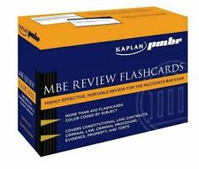 Kaplan PMBR: MBE Review Flashcards Bar Exam Questions & Answers
