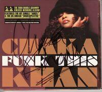 CHAKA KHAN Funk This 2008 UK SIGNED / AUTOGRAPHED 13-track CD + CoA
