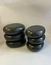 Large Massage Hot Stones Oval Shape Ship in 24-48hrs