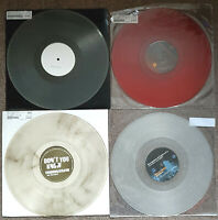 """4 x HOUSE PROG TRANCE COLOURED VINYL 12"""" RECORD COLLECTION LOT BUNDLE NEW! CRAFT"""
