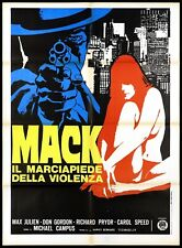 Mack The Sidewalk Of Rape Manifesto Movie Blaxploitation 1973 Poster 2F