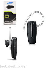 OEM Samsung HM1300 Bluetooth Headset HM-1300 Black Noise Echo Cancel Retail Pack