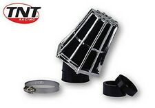 FILTRO ARIA SCOOTER SPUGNA TNT RACING EVOLUTION 35/28  CROMO / NERO MANICOTTO