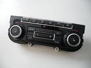 VW Touran Facelift Golf Klimabedienteil Sitzheizung schwarz Klima 5K0907044AC