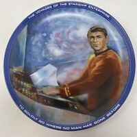 Scotty Engineering Officer Star Trek Hamilton Collection Collector Plate