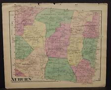 Pennsylvania Susquehanna County Map Auburn Township 1872 W16#16