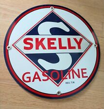 Skelly Gas Oil gasoline sign . Free shipping on any 8 signs