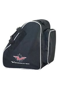 Vancouver Schlittschuhtasche, Inliner Tasche, schwarz.  34 x 38 x 23 cm. Hockey