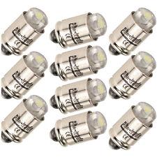 10 weiße LED Steckbirnen passend Märklin 60000 MS4 Glühlampen Lämpchen Birnchen