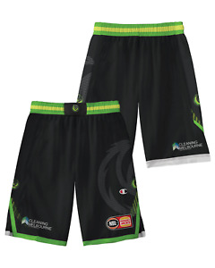 S.E. Melbourne Phoenix 20/21 Youth Authentic Home Shorts, NBL Basketball