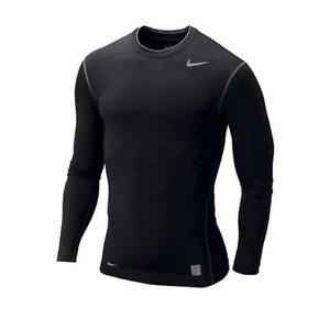 NIKE Mens Pro Core Long Sleeve Compression Crew Shirt | 269607 | NWT