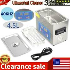 Stainless Steel 45l Liter Industry Heated Ultrasonic Cleaner Heater Withtimer Usa