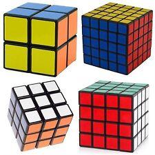 Rubik Cube Puzzle Speed Twist Magic Gift Smooth New Set of 4 Rubic Brain Game