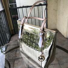 Michael Kors Women PVC Leather Shoulder Tote Handbag Bag Purse Messenger Lady MK