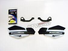 POWERMADD HANDGUARDS KTM ATV 450 MX HAND GUARDS WHITE BLACK HAND GUARD MOUNTS