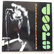 The Doors - Alive She Cried Vinyl Album LP German 1st Press