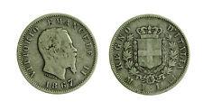 s644_30) Vittorio Emanuele II Re d'Italia (1861-1878) - 1 Lira 1867 M
