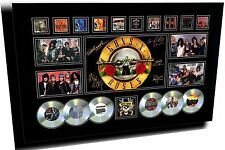 GUNS N ROSES 2 SIGNED LIMITED EDITION FRAMED MEMORABILIA