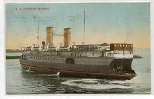 SS Charlottetown CNR Ice Breaker Car Ferry Prince Edward Island Canada postcard