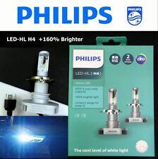 Genuine PHILIPS #11342ULX2 LED-HL H4 6000K +160% Brighter Light Bulb x 2 #Agtc