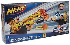 Brand New NERF N-Strike LONGSHOT CS-6 Dart Blaster RARE