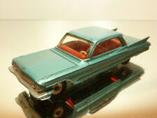 DINKY TOYS 147 CADILLAC 1962 - TURQUOISE 1:43 - VERY GOOD CONDITION