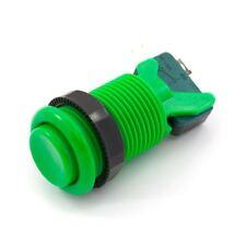 Concave Arcade Button - Green