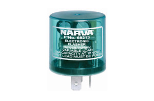 Narva Flasher Electronic 12V 3 Pin 68213BL fits Mazda 616 1.6