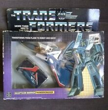 Transformers G1 Thundercracker New In Box 1984 Tm Misb Pre Rub