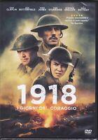 Dvd  1918 - I GIORNI DEL CORAGGIO nuovo 2018
