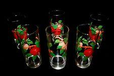 Franciscan Apple Tumbler Drinking Glasses Set of Six