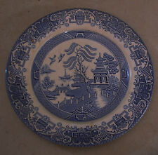 A Fine Antique Blue and White Chinese Pattern British Made Ironstone Plate