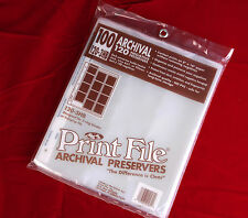 Print File Archival Preservers 120-3HB New