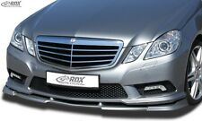 Lip spoiler,Bumper, Extension, Splitter,Front Spoiler MERCEDES E-class W212 AMG
