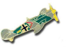 German Messerschmitt AG 109 MFG Aircraft Fighter Luftwaffe Air Cross Hat Tac Pin